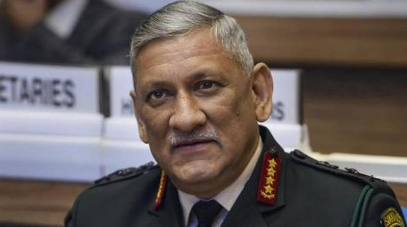 Chief of Defence Staff General Bipin Rawat (PTI file photo)