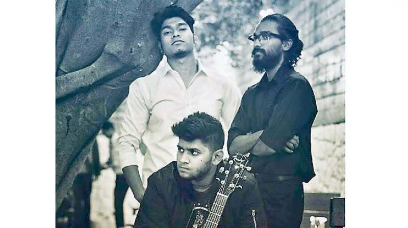 One such band is Triad that has Remo Ashley on vocals, Chris Richard on the guitar and Bala Raj on the Cajon.