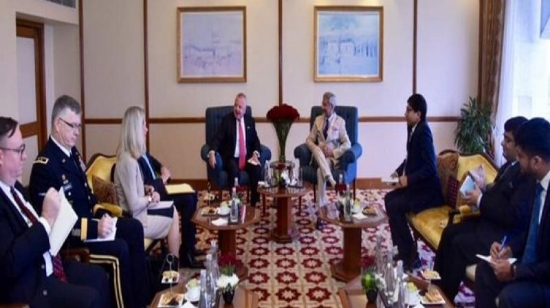 The international community has urged both countries to exercise restraint and to ensure that peace and stability prevail along the Line of Control (LoC). (Photo: ANI)