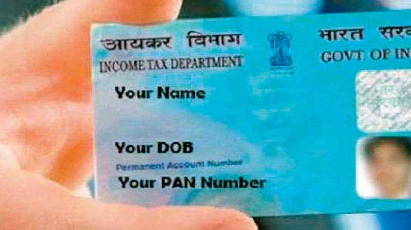 At present, furnishing of father's name is mandatory for the allotment of PAN.