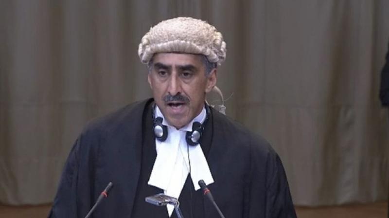 Pakistan lawyer Khawar Qureshi. (Photo: screengrab)