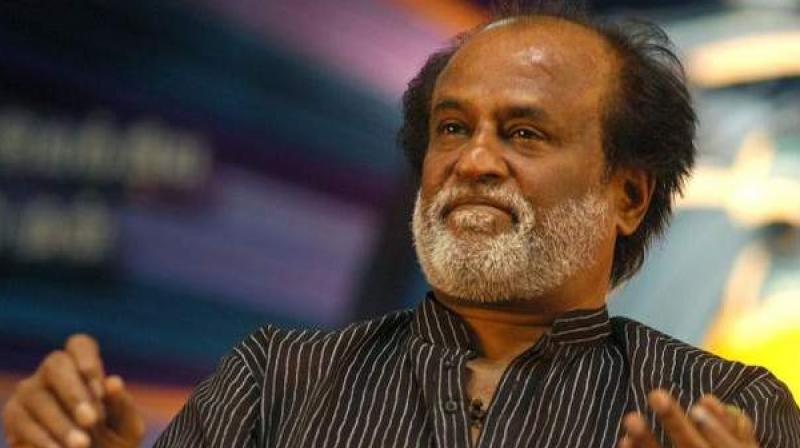 Members of a fringe pro-Tamil outfit on Monday burnt an effigy of actor Rajinikanth, opposing his entry into politics. (Photo: PTI/File)