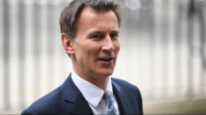 Hunt responds to a broadside by Trump against both May's government and Darroch. (Photo: AP)