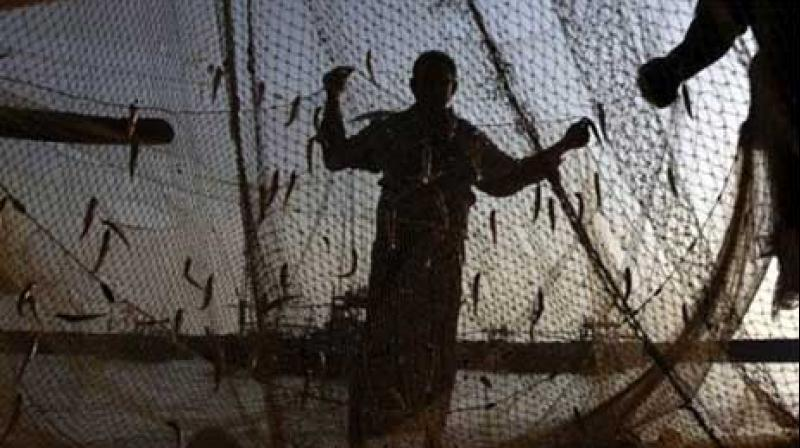 The fishermen from this island town had ventured into the sea in 700 boats and were fishing near Katchatheevu islet when the Lankan Navy personnel who came in boats snapped the nets and drove them away, Rameswaram Fishermen Association President P Sesuraja said. (Photo: File I Representational)