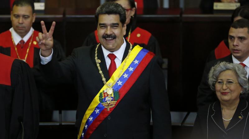 File image of Venezuelan president Nicolas Maduro. (AP)