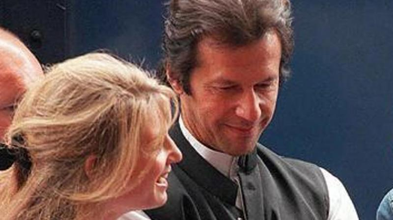 Imran Khan's ex-British wife Jemima Khan on Thursday congratulated him by declaring the cricketer-turned-politician as Pakistan's next prime minister even before the announcement of the official results.(Photo: AFP)