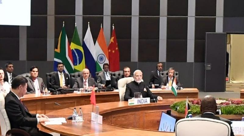 The prime minister reaffirmed India's commitment to multilateralism, international trade and rules-based world order. (Photo: Twitter | @MEAIndia)