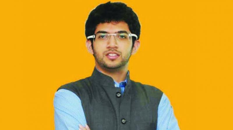 Yuva Sena chief Aaditya Thackeray