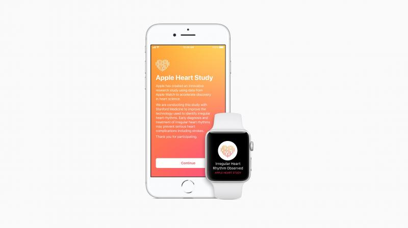 The Apple Heart Study app is available in the US App Store to customers who are 22 years or older and have an Apple Watch Series 1 or later.