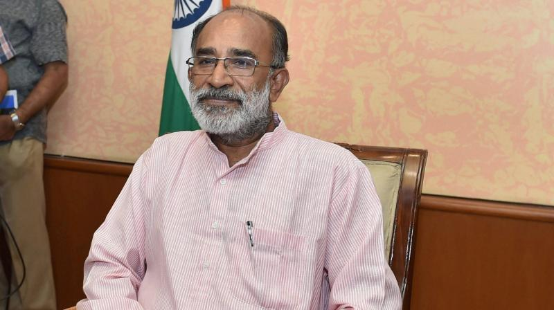 Union Minister KJ Alphons alleged that the women did not wanted to visit the temple because of their love for Lord Ayappa but to gain publicity. (Photo: File | PTI)