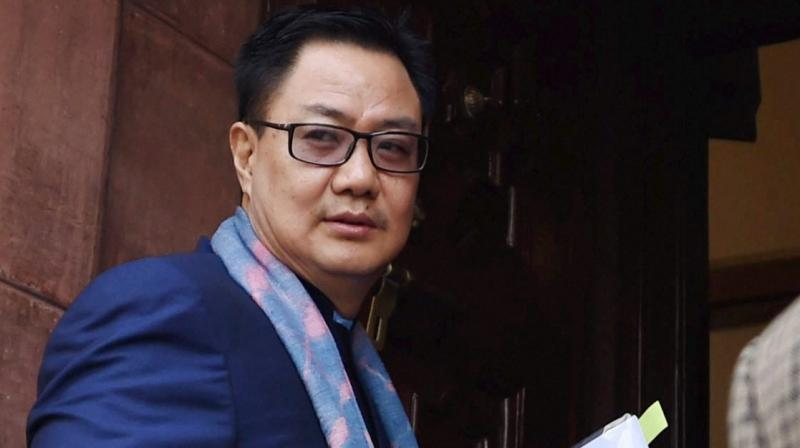 Union minister of state for home Kiren Rijiju  (Photo: PTI)