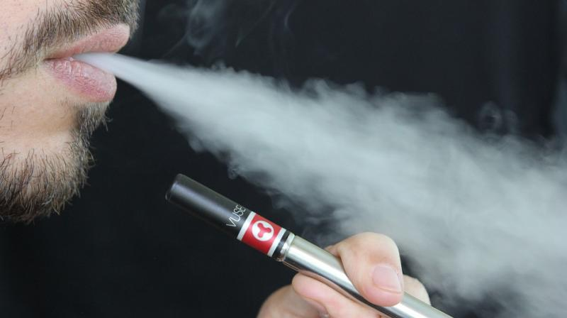 Electronic Nicotine Delivery Systems (ENDS), which include e-cigarettes - also called e-cigs, vapes and vape pens - and e-hookahs before they become an epidemic in India. (Photo: Pixabay)