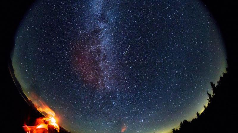 Perseid meteor shower. (Photo: Bill Ingalls/NASA)