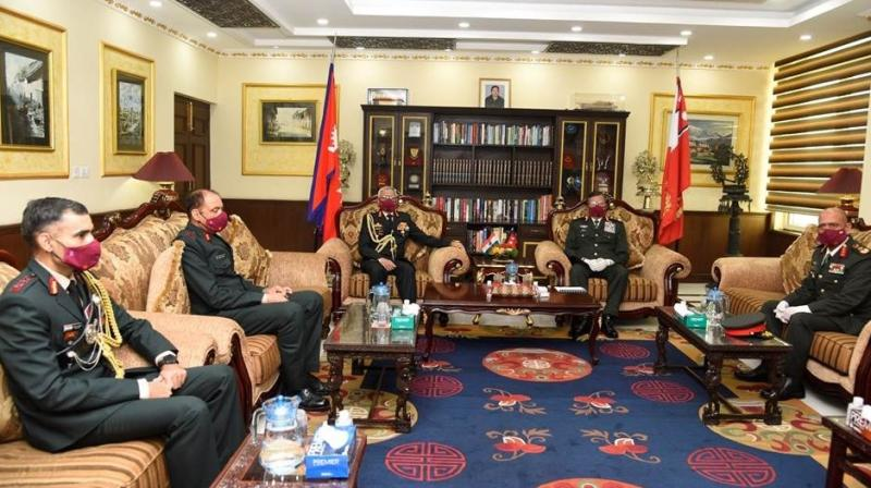 COAS interacted with General Purna Chandra Thapa, COAS, Nepali Army