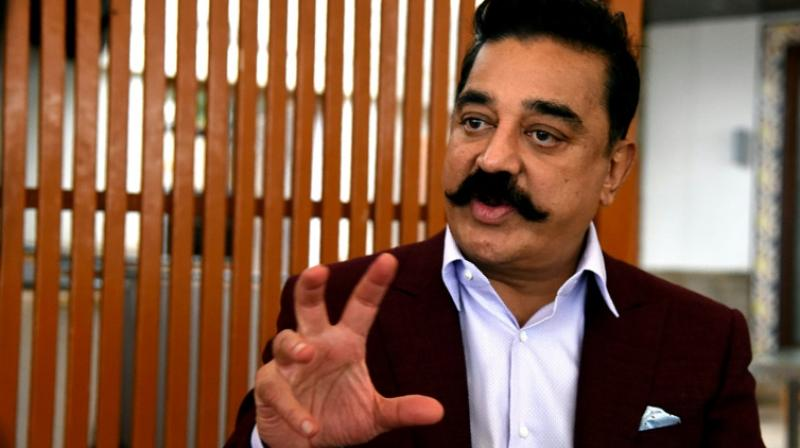 Haasan said he does not compare Congress and BJP as they 'both have their equal share of mistakes that they have done.' (Photo: File)
