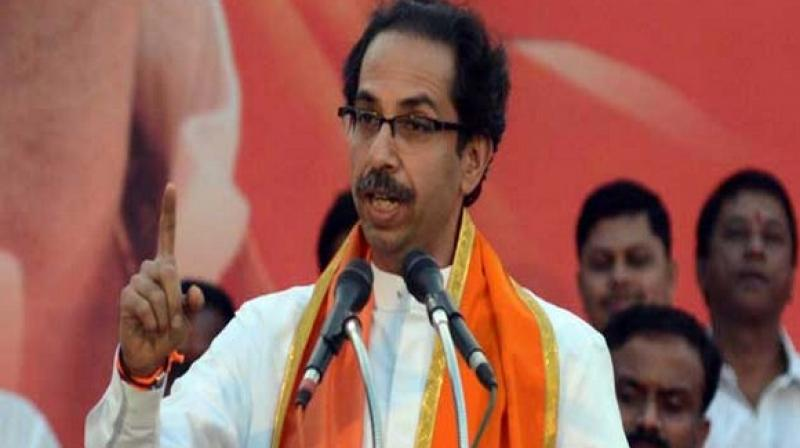 Shiv Sena chief Uddhav Thackeray also questioned the lack of action against loudspeakers put up on masjids. (Photo: ANI)