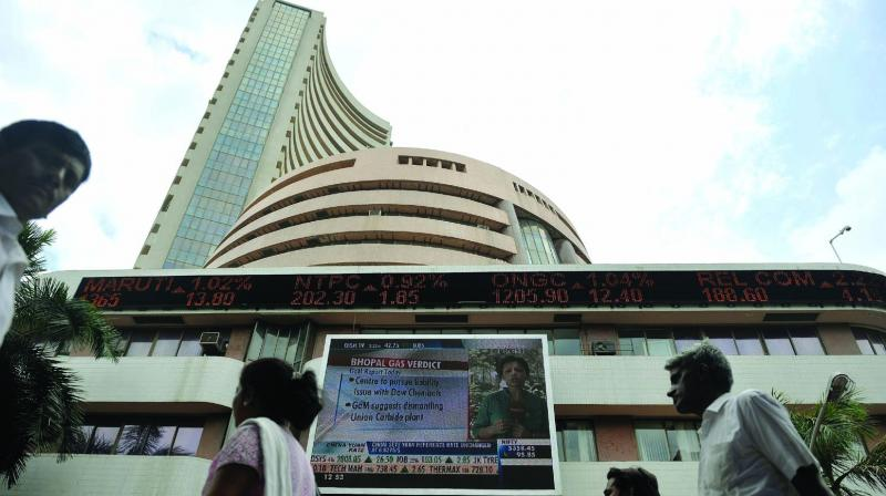The broader NSE Nifty cracked 109.60 points or 0.90 per cent to 12,117.05.