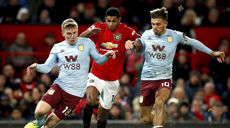 The problem for those fans was that the player in question was Jack Grealish — the Aston Villa midfielder whose swagger and craft, not to mention his attention to his hairstyle, has more than a hint of former Manchester United favourite David Beckham. (Photo:AP)