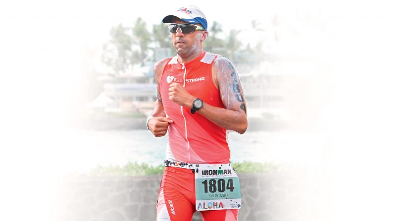 Kaustubh is today one of India's few Ironman coaches.