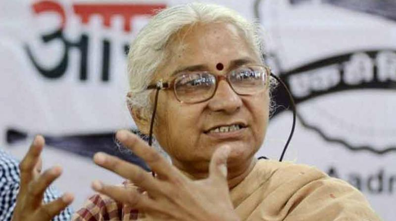 Social activists Medha Patkar and Swami Agnivesh and Swaraj India chief Yogendra Yadav were arrested after they tried to enter Mandsaur (Photo: PTI)