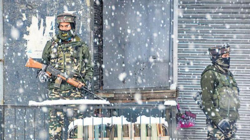These units drawn from the CRPF, BSF, ITBP, CISF and the SSB were sent to the Kashmir Valley after the Centre abrogated Article 370 provisions in Jammu and Kashmir. (Photo: File)