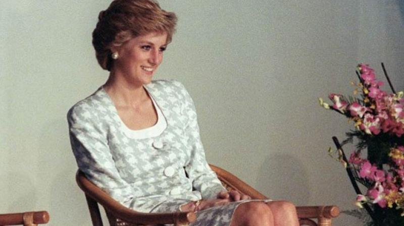 Diana, the Princess of Wales who died in 1997, continues to rule the front pages.