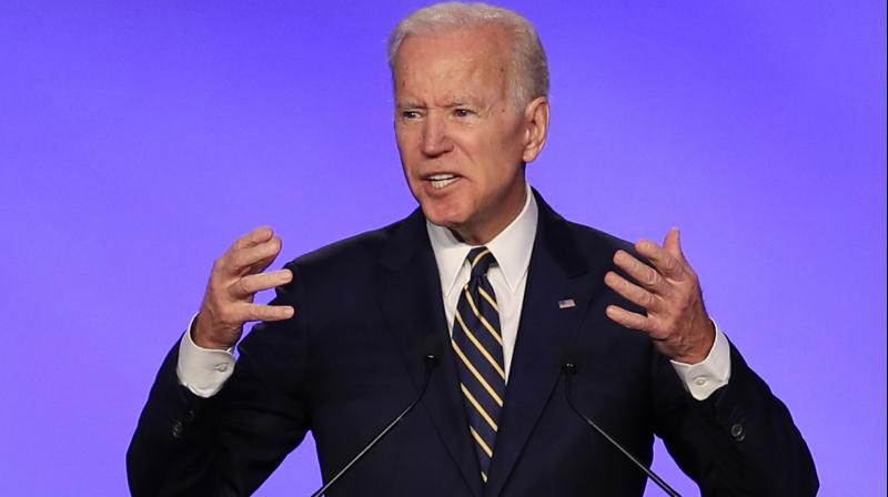 Multiple women have accused Biden this year of touching them inappropriately in the past. (Photo:AP)