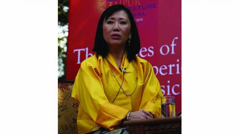 A file picture of Bhutanese Queen Mother Ashi Dorji Wangmo Wangchuk.