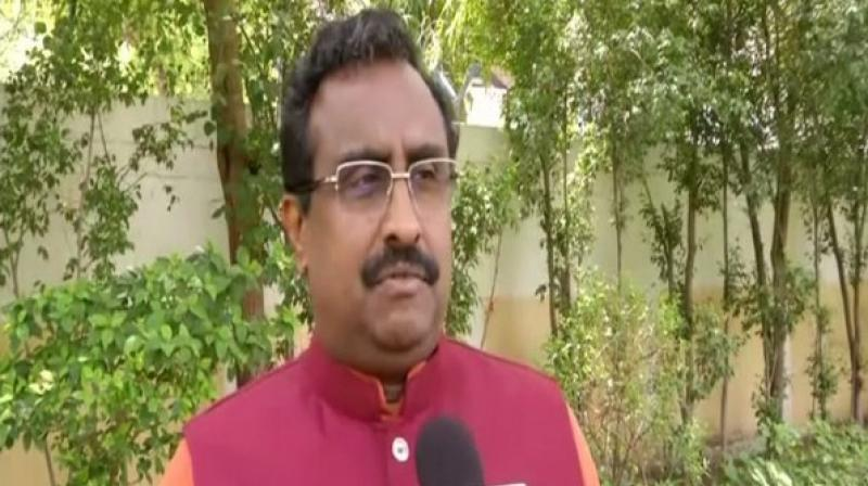 "Calling out Pakistan for fuelling terrorism in India, BJP national general secretary Ram Madhav on Monday said that New Delhi wants a good relationship with all its neighbours but ""not at the gunpoint"". (Photo: File)"
