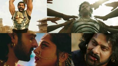 Video grabs from the trailer of the film.