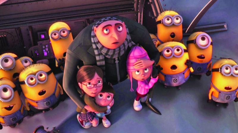 Despicable Me 3 Movie Review The Villains Save The Day