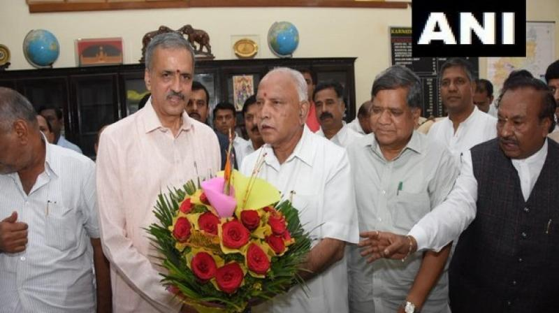 Vishweshwar Kageri will succeed K R Ramesh Kumar, who resigned shortly after the BJP won the trust motion in the Assembly on Monday. (Photo: ANI)