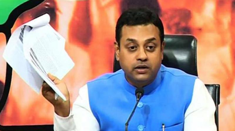 Taking a dig at the Congress, BJP national spokesperson Sambit Patra said Kapil Sibal, a leader of the opposition party, defended this practice in the Supreme Court. (Photo: File)
