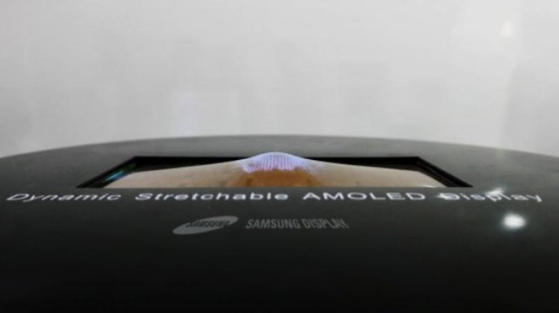 Samsung will showcase stretchable OLED this week