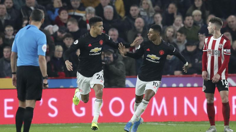 Three goals in seven minutes from Brandon Williams, Mason Greenwood and Marcus Rashford turned the match on its head, and put the visitors on course for a victory similar to the comeback wins of Alex Ferguson's tenure. (Photo:AP)