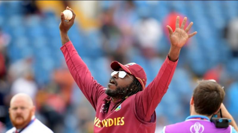 An in-form Chris Gayle is always in high demand in franchise cricket, but the marauding West Indies batsman feels he becomes a burden for his teams whenever he flops with the bat in private T20 leagues. (Photo:AFP)