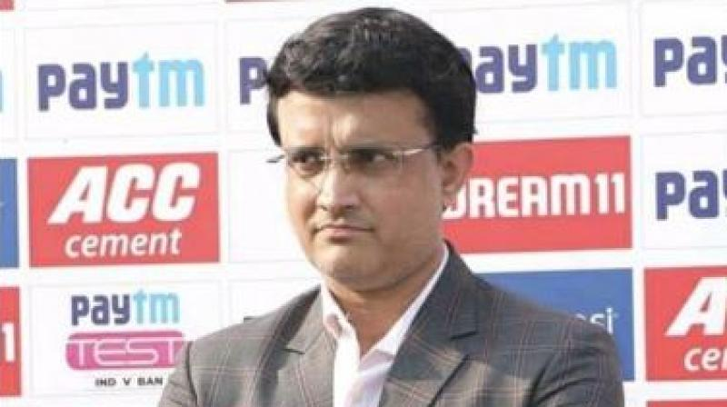As soon as BCCI president shared a picture after the conclusion of the day-night Test between India and Bangladesh, Sourav Ganguly and his daughter Sana engaged in some funny banter on Instagram. (Photo: Instagram)