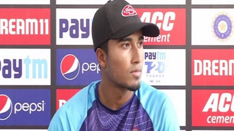 Bangladesh all-rounder Afif Hossain on Tuesday said that skipper Mahmudullah told the team to play as a collective unit in the ongoing three-match T20I series against India. (Photo:ANI)