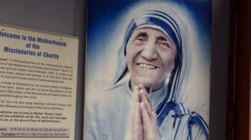 Mother Teresa. (Photo: AFP)