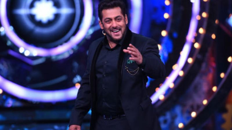 Salman Khan as host on 'Bigg Boss.'