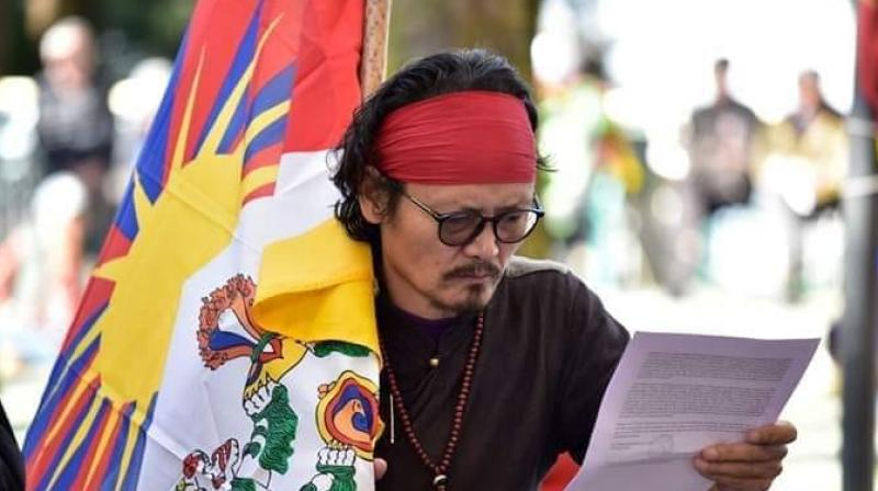 File image of Tibetan activist Tenzin Tsundue. (Photo courtesy: Facebook/ Tenzin Tsundue)