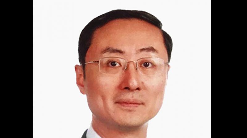 Chinese ambassador to India Sun Weidong.