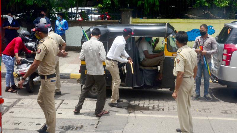 Navi Mumbai acting tough against lockdown violators. (PTI)