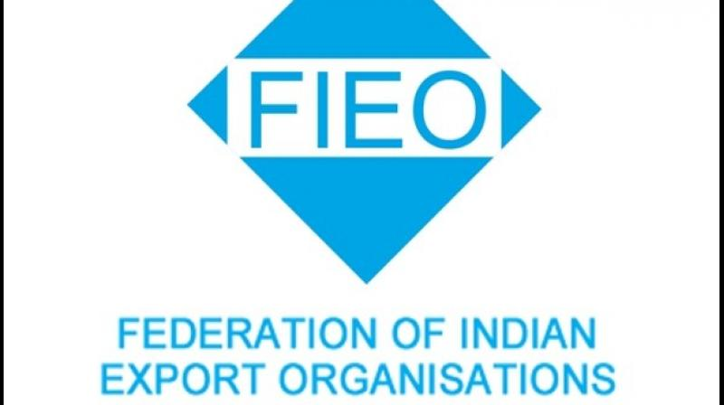 Federation of Indian Export Organisations (FIEO). (ANI Photo)