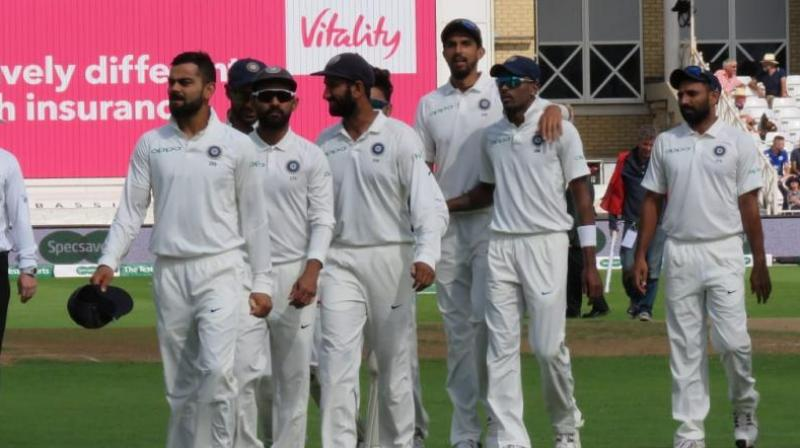 The Indian cricket team is currently on tour of the West Indies and they have already played the T20 and the ODI series. (Photo: Twitter/BCCI)