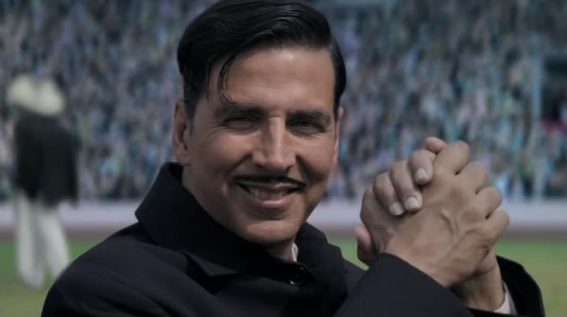 Akshay Kumar in a still from 'Gold.'