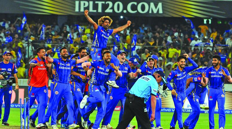 The two most successful teams of the IPL-Mumbai Indians and Chennai Super Kings - clashed in the final in Hyderabad on Sunday night. (Photo: File)