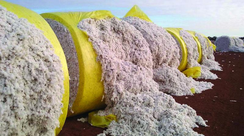 According to the Cotton Association of India (CAI), total stock held by spinning mills and stockists as on April 30, 2019 is estimated at 87.75 lakh bales of 170 kg each, which is equal to about 93 to 94 lakh running bales.