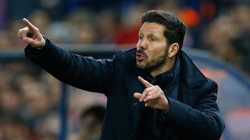 Atletico Madrid manager Diego Simeone urged that the players need to be 'together forever' after the team defeated Athletic Bilbao. (Photo: AP)