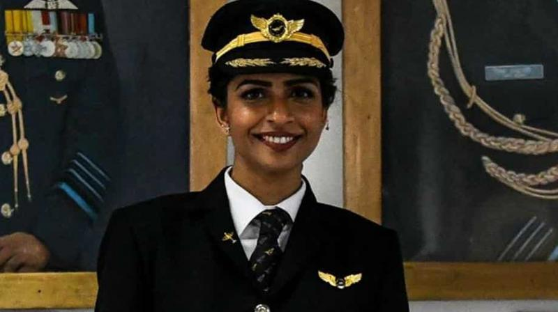 In 2017, Divya made history after she became the youngest woman to command a Boeing 777. (Photo:AFP)